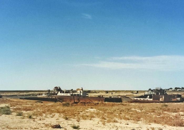 bateaux abandonnés Mer d'Aral 2