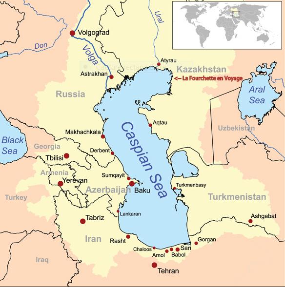 Carte Mer Caspienne copie