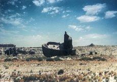 Fantome de bateau Mer d'Aral
