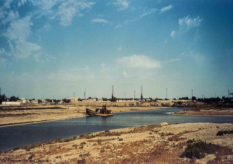 Le port .Mer d'Aral