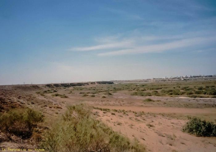 rivage vide de Mer d'Aral 2