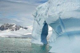Antarctique falaise de glace