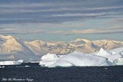 Antarctique Iceberg Géant