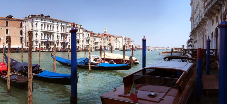 Canal Grande Venise Panoramique (6 photos) w