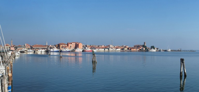 CHIOGGIA le port Delta du Po Panoramique (6 photos) w