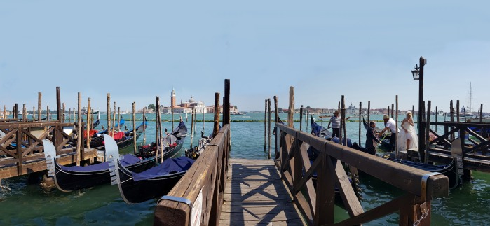 La Mariée en Gondole Venise Panoramique (4 photos) w